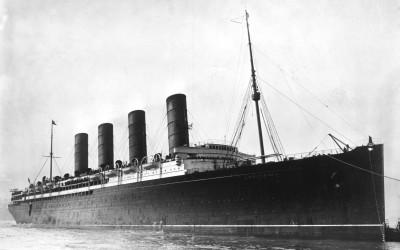 Lusitania 100 år